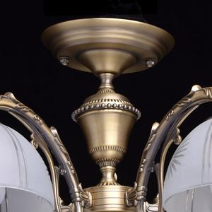Závěsná lampa Ariadna Classic 5 Mosaz - 450010905 small 7