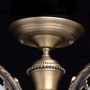 Závěsná lampa Ariadna Classic 5 Mosaz - 450010905 small 10