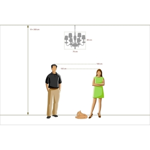 Lustr Gabriel Classic 6 Mosaz - 491011406 small 5