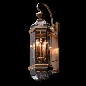 Venkovní nástěnné svítidlo Corso Street 4 Mosaz - 802020504 small 1