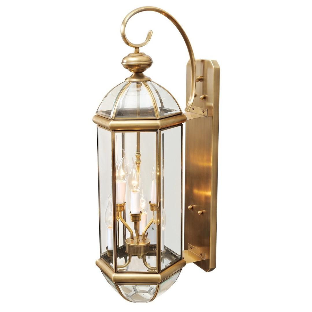 Venkovní nástěnné svítidlo Corso Street 6 Mosaz - 802020606