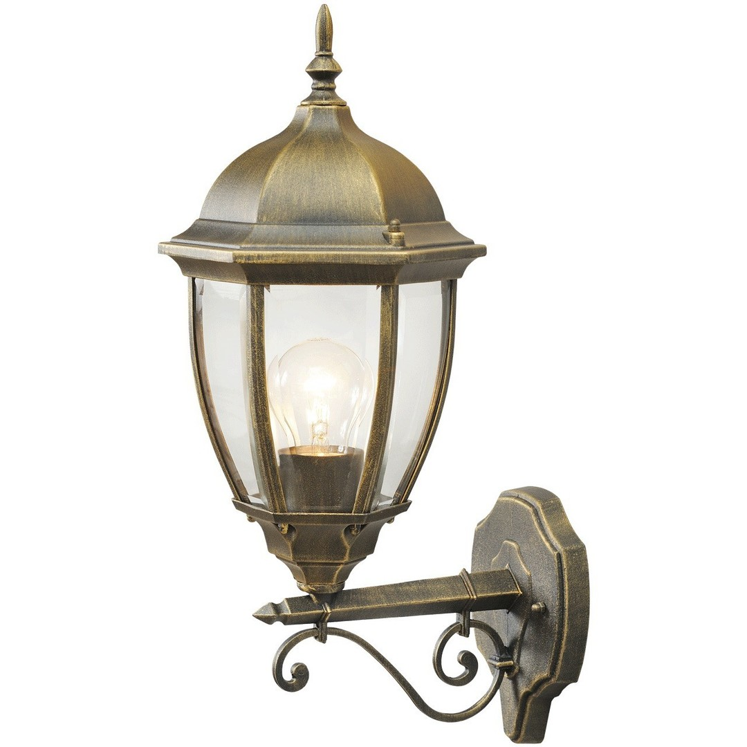 Venkovní nástěnná lampa Fabur Street 1 Černá - 804020101