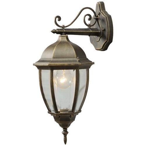 Venkovní nástěnná lampa Fabur Street 1 Černá - 804020201