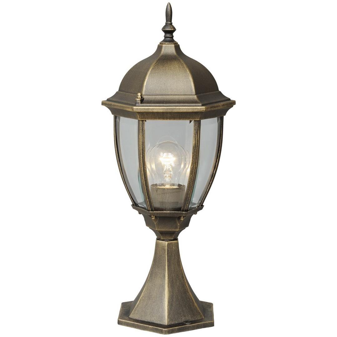 Zahradní lampa Fabur Street 1 Černá - 804040301