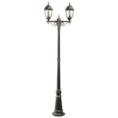 Zahradní lampa Fabur Street 2 Černá - 804040602
