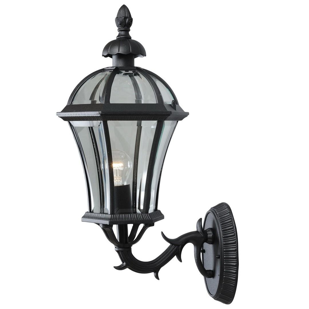 Venkovní nástěnná lampa Sandra Street 1 Černá - 811020101