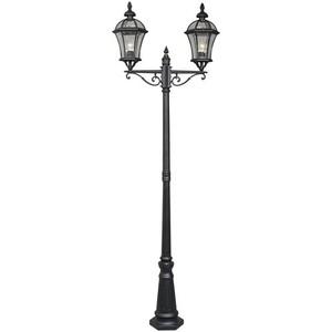 Zahradní lampa Sandra Street 2 Černá - 811040602 small 0