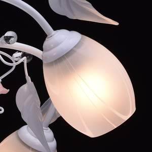 Závěsná lampa Provence Flora 5 bílá - 422010405 small 5
