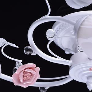 Závěsná lampa Provence Flora 5 bílá - 422010405 small 10
