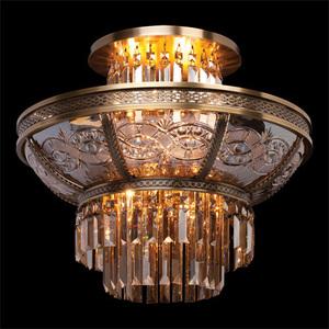 Závěsná lampa Diana Crystal 8 Mosaz - 340011308 small 1