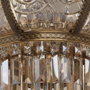 Závěsná lampa Diana Crystal 8 Mosaz - 340011308 small 5
