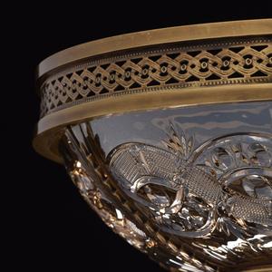 Závěsná lampa Diana Crystal 8 Mosaz - 340011308 small 7