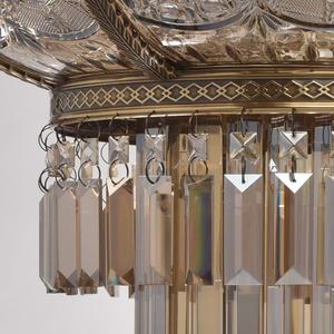 Závěsná lampa Diana Crystal 8 Mosaz - 340011308 small 11