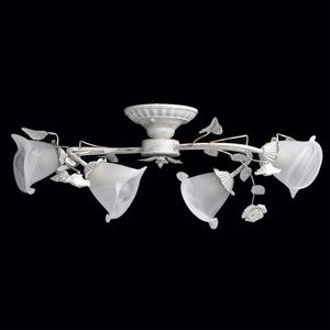 Závěsná lampa Verona Flora 4 bílá - 242014704 small 1