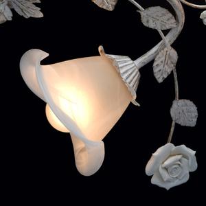 Závěsná lampa Verona Flora 4 bílá - 242014704 small 6