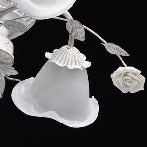 Závěsná lampa Verona Flora 4 bílá - 242014704 small 8