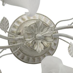 Závěsná lampa Verona Flora 4 bílá - 242014704 small 12
