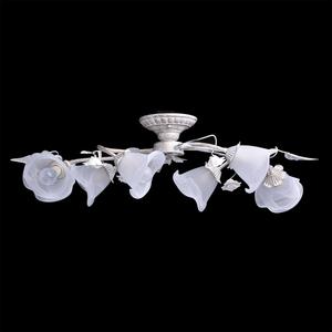 Strop s květinovým motivem Verona Flora 6 White - 242014806 small 3
