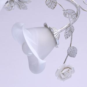 Strop s květinovým motivem Verona Flora 6 White - 242014806 small 4