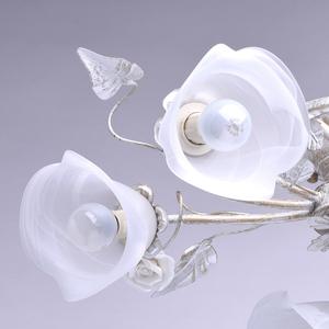 Strop s květinovým motivem Verona Flora 6 White - 242014806 small 6