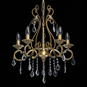 Závěsná lampa Sofia Elegance 5 Mosaz - 355011905 small 3