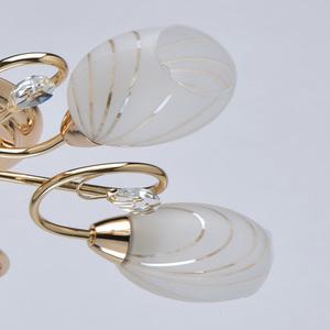 6 zlatých stropních svítidel Sabrina Megapolis - 267012106 small 3