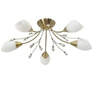 Závěsná lampa Savona Megapolis 5 Mosaz - 356012905 small 0