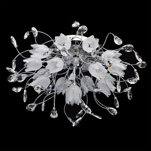 Plafond Amelia Flora 16 Chrome - 294014416 small 1