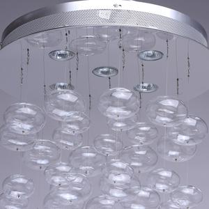 Závěsná lampa Venezia Megapolis 5 Silver - 464011605 small 2