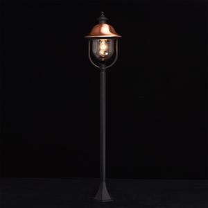 Zahradní lampa Dubai Street 1 Black - 805040501 small 1