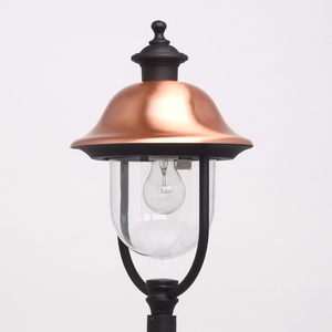 Zahradní lampa Dubai Street 1 Black - 805040501 small 2