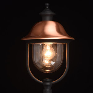 Zahradní lampa Dubai Street 1 Black - 805040501 small 4