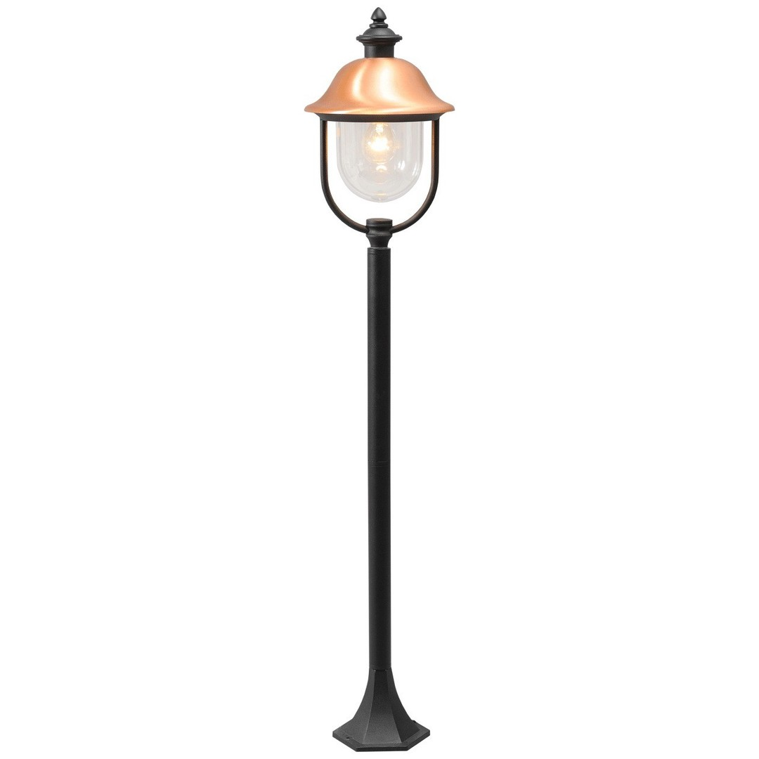 Zahradní lampa Dubai Street 1 Black - 805040501