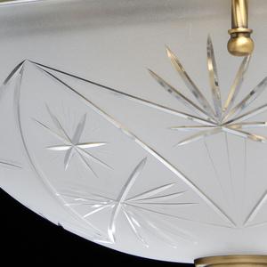 Závěsná lampa Aphrodite Classic 4 Mosaz - 317012104 small 5