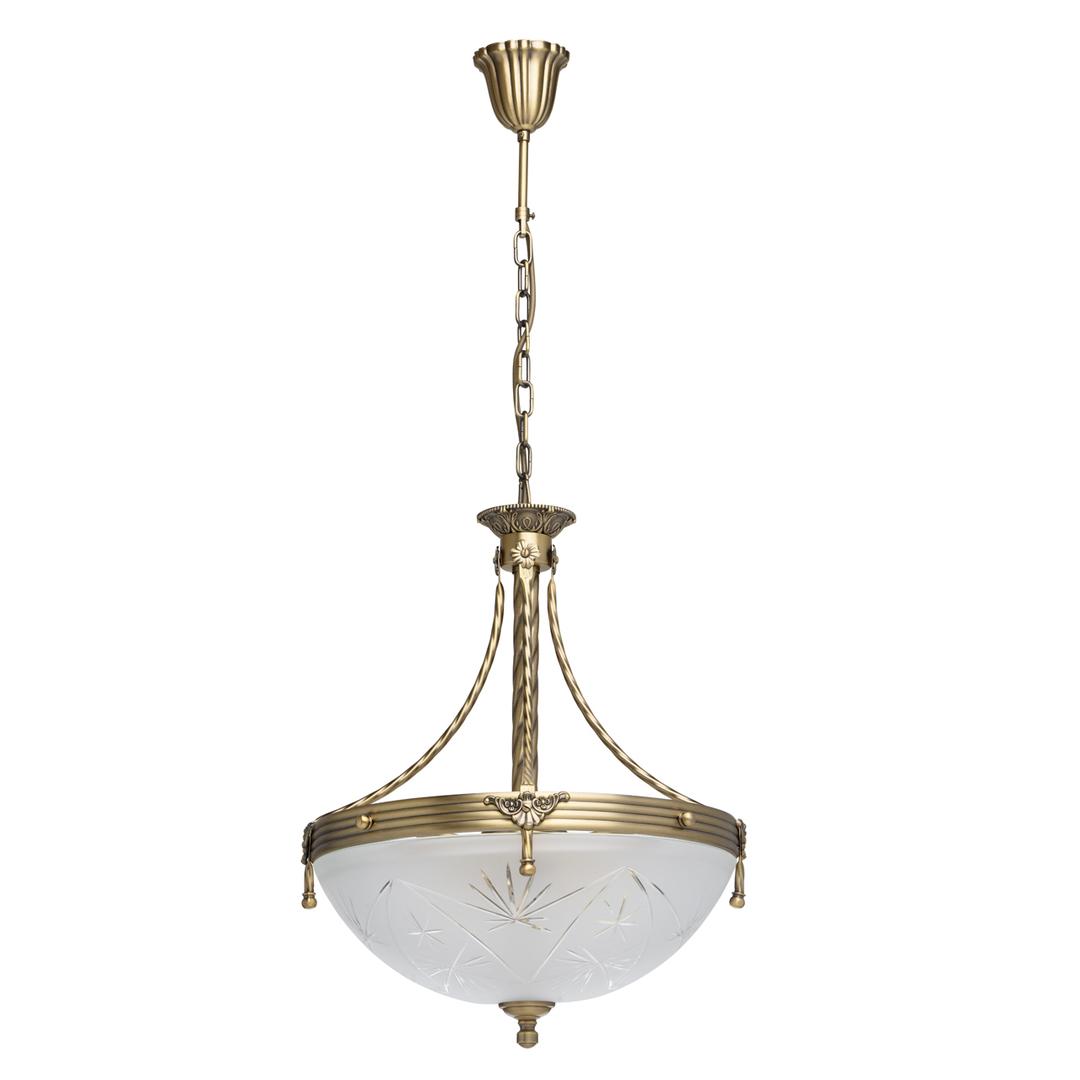 Závěsná lampa Aphrodite Classic 4 Mosaz - 317012104