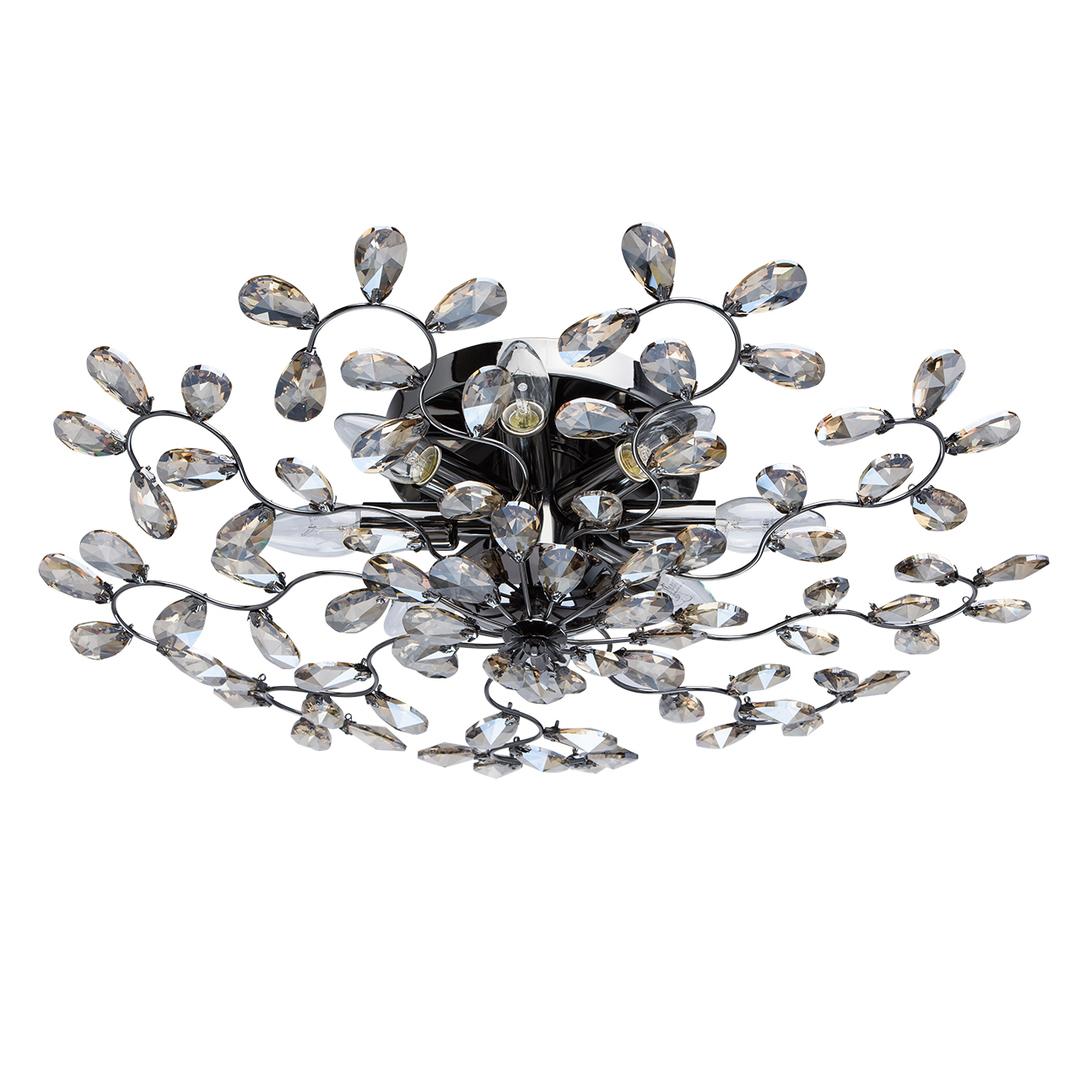 Závěsná lampa Adriatica Flora 8 stříbrná - 280011008