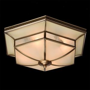 Závěsná lampa Marquis Country 4 Mosaz - 397010204 small 2