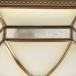 Závěsná lampa Marquis Country 4 Mosaz - 397010204 small 5