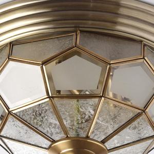 Závěsná lampa Marquis Country 6 Mosaz - 397010506 small 3