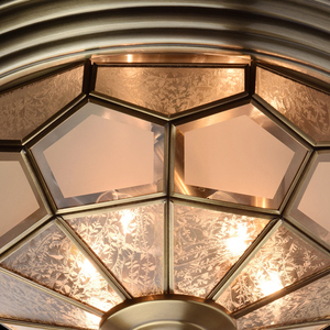 Závěsná lampa Marquis Country 6 Mosaz - 397010506 small 4