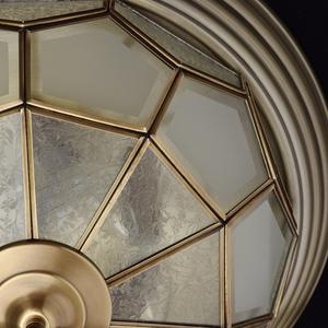 Závěsná lampa Marquis Country 6 Mosaz - 397010506 small 5