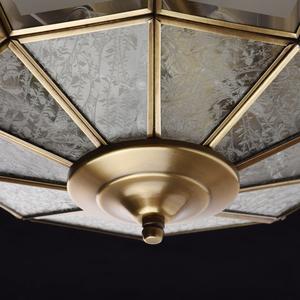 Závěsná lampa Marquis Country 6 Mosaz - 397010506 small 8