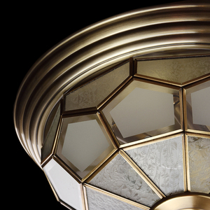 Závěsná lampa Marquis Country 6 Mosaz - 397010506 small 9