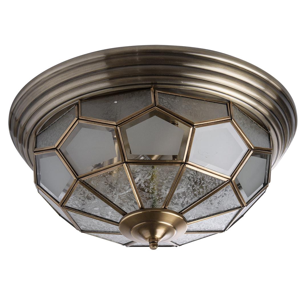 Závěsná lampa Marquis Country 6 Mosaz - 397010506