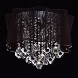 Jacqueline Elegance 5 Chrome závěsná lampa - 465011205 small 1