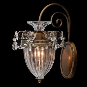Nástěnná lampa Selena Classic 1 Mosaz - 482010101 small 1