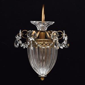Nástěnná lampa Selena Classic 1 Mosaz - 482010101 small 2