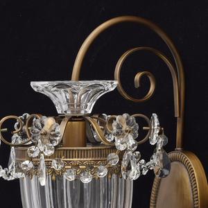 Nástěnná lampa Selena Classic 1 Mosaz - 482010101 small 4