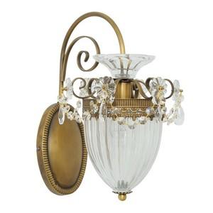 Nástěnná lampa Selena Classic 1 Mosaz - 482010101 small 0