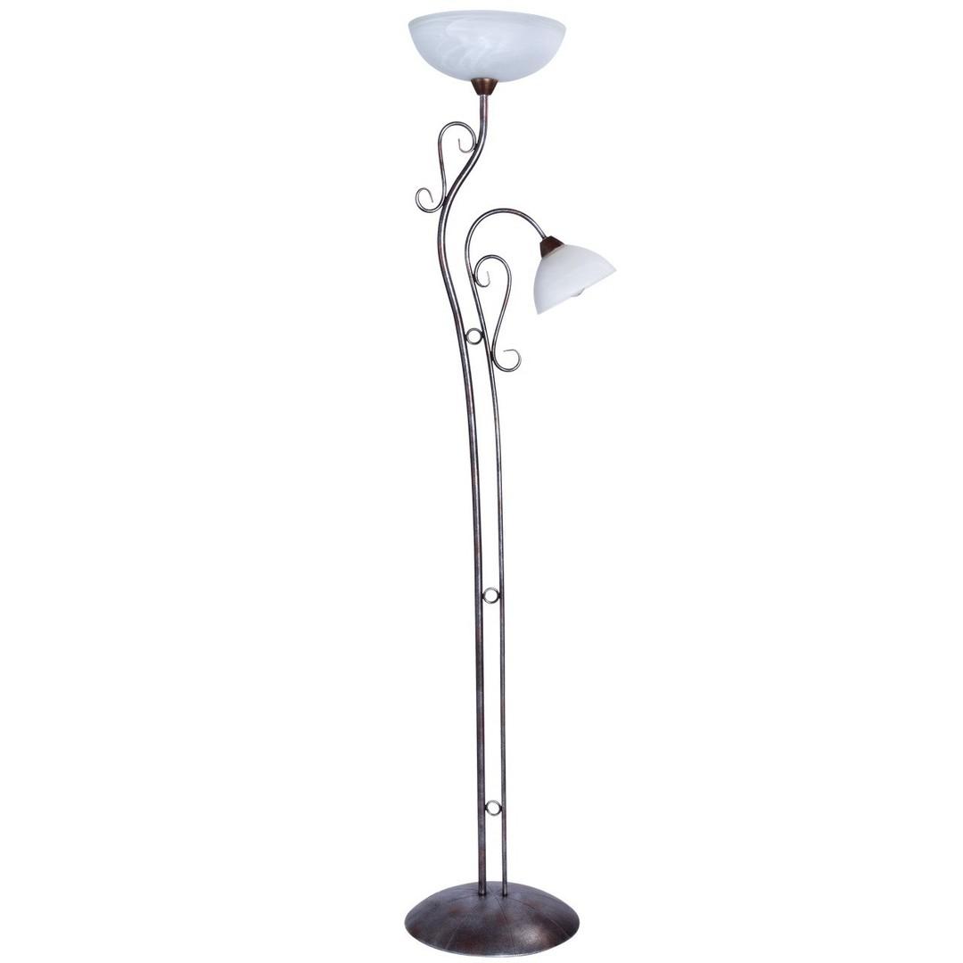 Aida Country 2 stojací lampa hnědá - 323042902